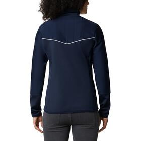 Columbia Roffe Ridge II Chaqueta Cremallera Completa Mujer, azul